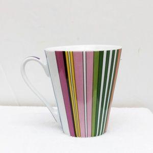 Spizy Denmark Coffee Mug Pink Purple Striped